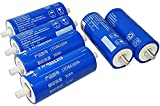 6PCS YINLONG 2.3V 30ah 35ah 40ah LTO Celda de batería 66160H 2.4V Batería de óxido de litio y titanio para bicicletas eléctricas Automóviles Autobuses Autobuses de ferrocarril RV (2.3V 40Ah×6pcs)