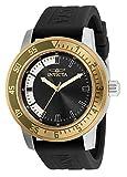 Invicta Specialty Reloj de cuarzo de silicona de 45 mm para hombre