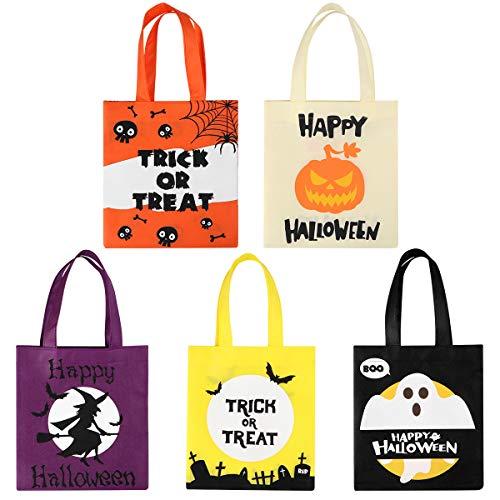 BESTonZON 20 STüCKE Halloween Tragetaschen/Sü?es oder Saures Taschen/Party Geschenk Taschen, Sü?igkeiten Goodie Spielzeug Taschen für Kinder Halloween Party Favors …