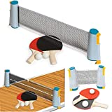 FiNeWaY Instant Indoor Outdoor Table Tennis Game Portable Travel Ping Pong Ball Set