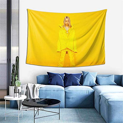 Bi Llie Ei Lish Tapestry Wall Hanging Home Sofa Cover Decoration Blanket for Living Room Beach