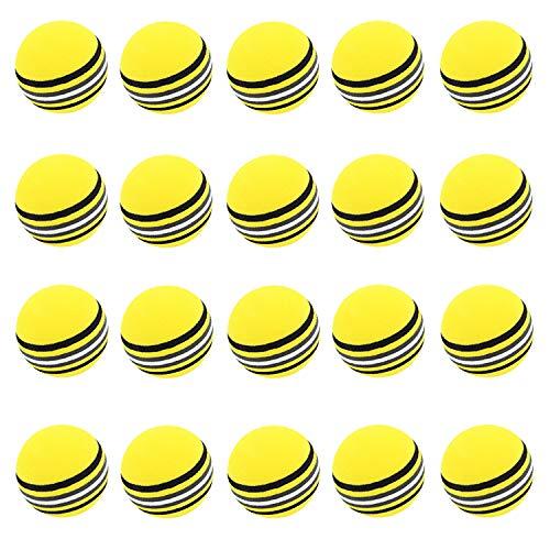 LIKOSO 20Pcs Practice Golf Balls Soft Foam Golf Ball Sponge Golf Training...