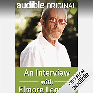 Interview with Elmore Leonard audiobook cover art