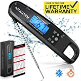 Upgraded 2019 Version Digital Meat Thermometer for Grill and Cooking, 2S Best Super Fast Instant...