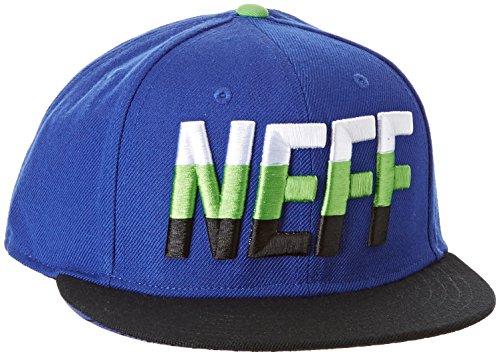 NEFF Tripple Adjustable Cap Casquette Mixte Adulte, Bleu/Noir, FR : (Taille Fabricant : U)