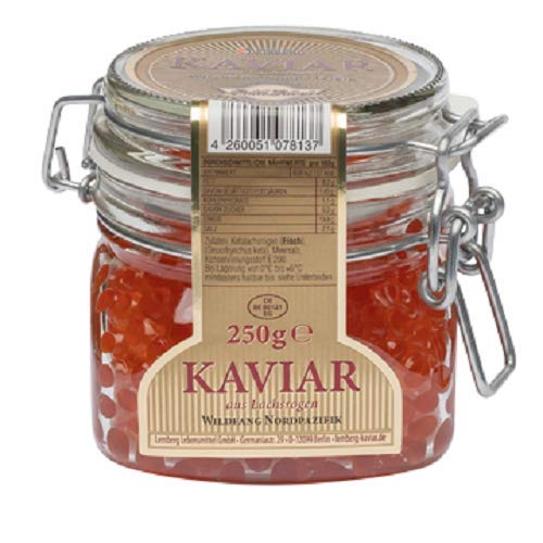 Kaviar Keta GOLD LABEL Lemberg 250g aus Lachsrogen