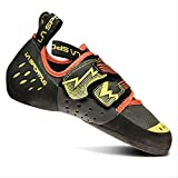 La Sportiva Men's OXYGYM Climbing Shoe, Carbon/Sulphur, 44