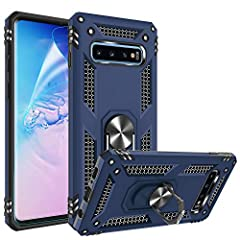 Compatible With:Specially Designed for Samsung Galaxy S10 (Not fit Samsung Galaxy S10E / S10+ / S10 5G). Excellent Shock Absorption: the product adopts PC+TPU two-in-one design, with a PC shell, which is strong and durable and crash-proof;Lined with ...