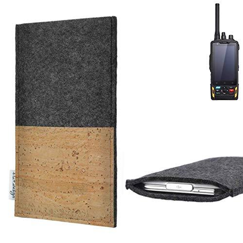 flat.design vegane Handy Hülle Evora für Ruggear RG760 Kartenfach Kork Schutz Tasche handgemacht fair vegan