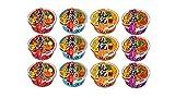 【Amazon.co.jp限定】 サンヨー食品 サッポロ一番 旅麺 ご当地ラーメン 4種12個アソート (横浜3個 京都3個 札幌3個 喜多方3個) 【セット買い】