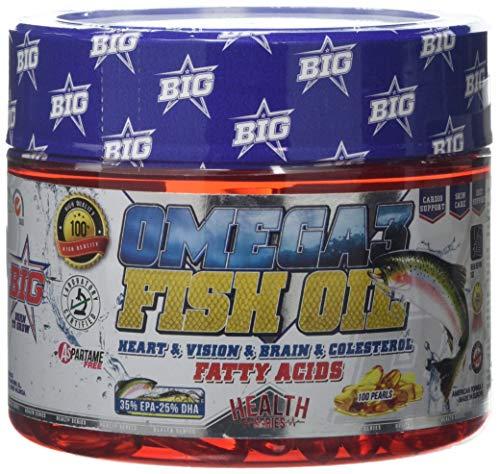 BIG Omega 3 Suplemento - 100 Cápsulas (BIG0040)