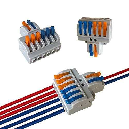 Aiqeer 6 Piezas KV426 Palanca Tuerca Cable...
