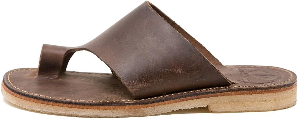 Virginia Brand new Beach Mall Duckfeet Mando Unisex Sandal Leather