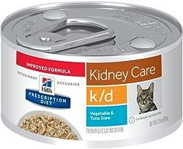 HILL'S Prescription Diet k/d Kidney Care Vegetable & Tuna Stew Canned Cat Food 12/2.9 oz