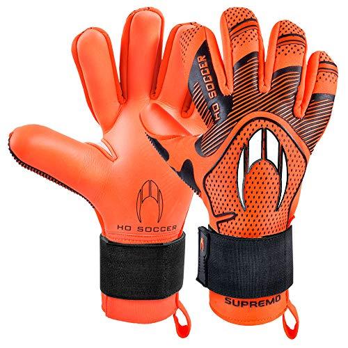 HO Soccer Supreme Club Negative Premier Premier Premier Torwarthandschuhe, Unisex, Erwachsene 44,5 Orange/Schwarz
