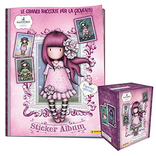 Gorjuss Sticker Album Super Starter Pack [Album + Scatola da 50 Bustine]