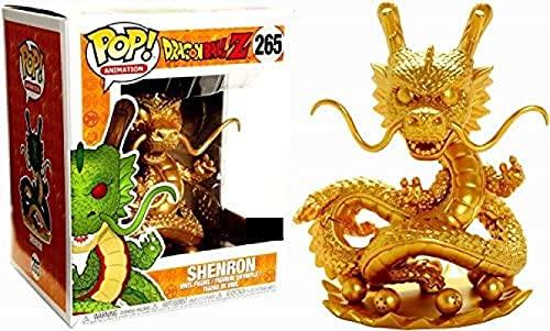 Anime Dragon Ball Z Pop Shenron Gold # 265 15 cm Vinyl Figur Modell Spielzeug, Dragon Ball Actionfigur Collection Modell