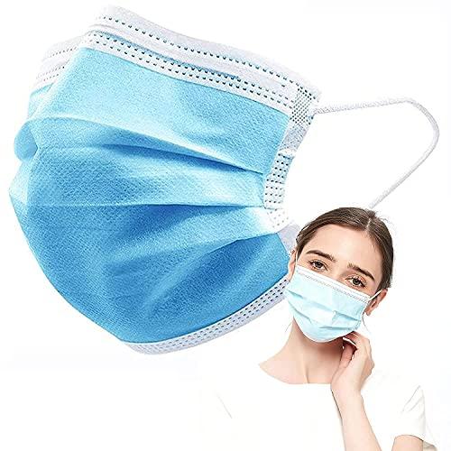 Ediesi, Mascarillas Higiénicas, No Reutilizables, Pack de 50 unidades, Color Azul, Homologadas CE