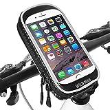 Support Téléphone Velo étanche Universel 360° Rotation Support Téléphone Moto avec Toucher...
