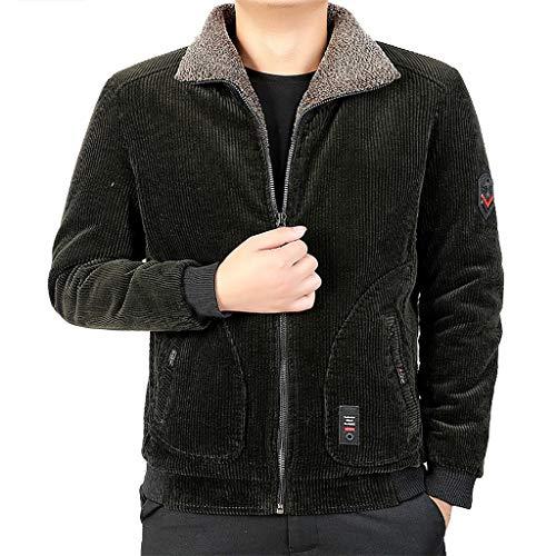 Dasongff Herenjack, dikke fleece, winterjas, gebreide jas, gebreide fleece, overgangjack, cargo, outdoor, sport vrijetijdsjack