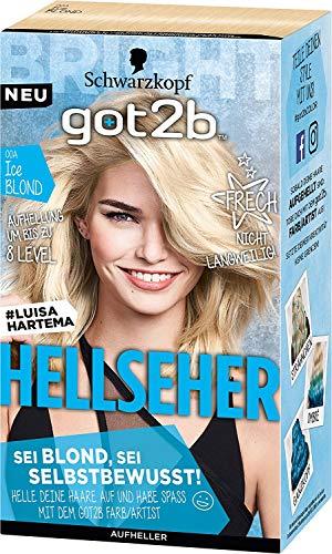 Schwarzkopf Got2b Hellseher, Aufheller + Haarfarbe, Ice Blond, 1x143 ml