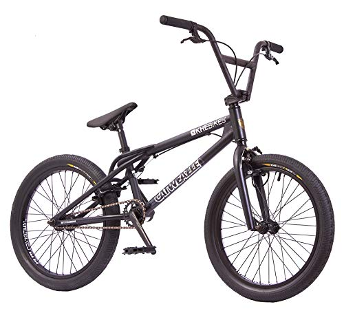 KHE BMX Fahrrad CATWEAZLE patentierter Affix 360° Rotor 20 Zoll schwarz nur 11,2kg!