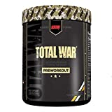 Redcon1 Total War - Pre Workout, 50 Servings, Boost Energy, Increase Endurance and Focus, Beta-Alanine, Caffeine (Orange Crush) Larger Size (Orange Crush)