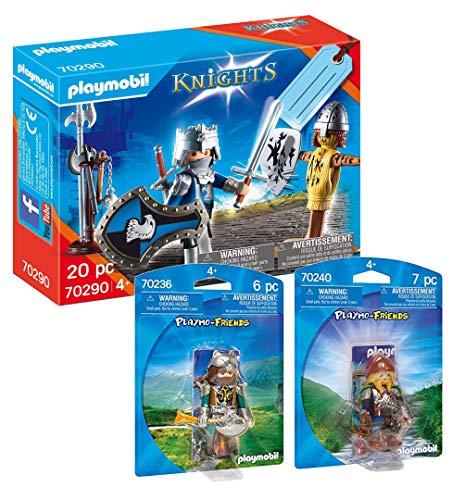 PLAYMOBIL Ritter 70290 Knight 70236 Wolfskrieger