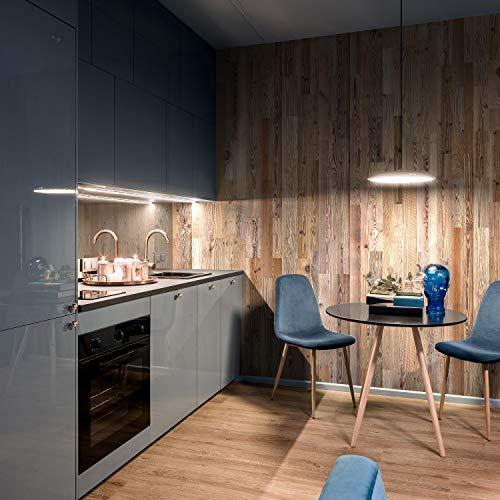 Wandverkleidung aus Altholz, Natürliches Vintage Wall Design (1m2) - 4