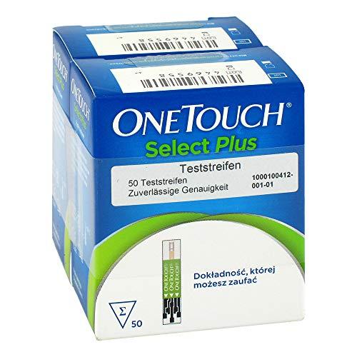 ONETOUCH SelectPlus Blutzucker Teststreifen 100 St