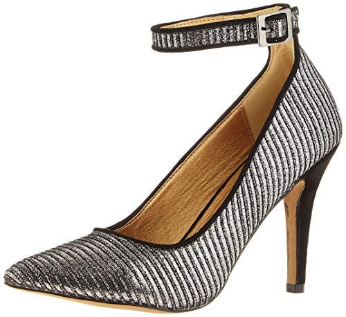 El Caballo Lebrija, Zapato de tacón Mujer, Visón, 38 EU