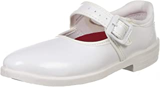 BATA Girl's Nova Ballerina Uniform Dress Shoe