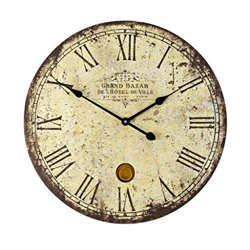 Vintage Style Extra Large White Wall Clocks Sale