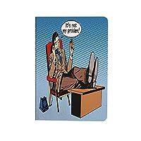 レトロ 可愛い 2020新型 iPad Air4 10.9 ケース 電話を飲んで話しているポップアートスタイルビジネス男リラックスボスマネージャー交渉 お洒落 薄型 軽量 おしゃれ 人気 手帳型ケ 多色