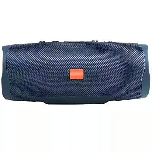 Altavoz Bluetooth 20WAltavoz bajo estéreo Bluetooth portátil al Aire Libre Caja de resonancia de Columna subwoofer conAzul TF USB