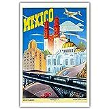 shuimanjinshan Cartel de Viaje Vintage de Cachemira Leningrado Malaya Mandarinetto México (Pt-39) 50x70cm Sin Marco