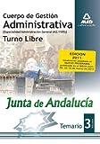 Cuerpo de Gestión Administrativa, turno libre, Junta de Andalucía, especialidad administración general (A2 1100). Temario