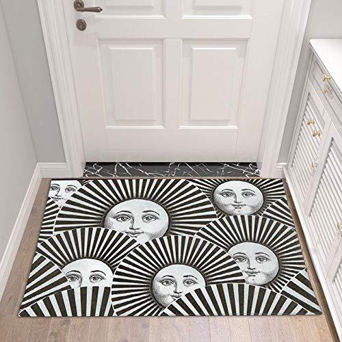 GRENSS Wohnzimmer Flur Zugang Badezimmer Nordic Home Indoor Schlafzimmer Wohnzimmer Nacht Teppichmatte Küche Tatami Teppich, 03,50 cm x 80 cm