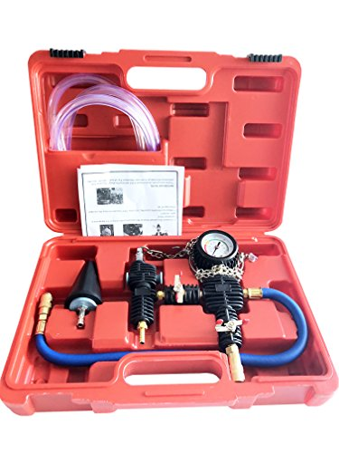 Best Price! GooMeng System Vacuum Purge & Coolant Refill Kit with Carrying Case for Car SUV Van Truc...