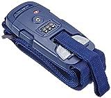 Samsonite Travel Accessories Us 3 Combi Strap Scale Bilancia Pesa Valigie, Indigo Blue, 25...