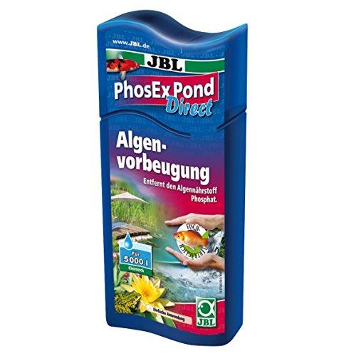 JBL PhosEx Pond Direct 27393 Phosphatentferner für Teiche, 250 ml