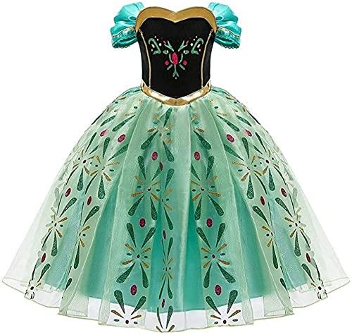 GDYJP Vestido de Disfraces de la Princesa de Las niñas, el Carnaval de Halloween Cosplay Fiesta de Lujo de Lujo de 2 a 10 años, Fiestas temáticas, Disfraces, Juegos de Roles