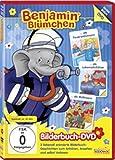 Benjamin hat Geburtstag/ rettet den Kindergarten/ Otto ist krank - Bilderbuch - DVD