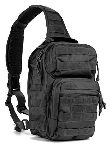 Red Rock Outdoor Gear Rover Sling Pack Black best budget concealed carry backpack