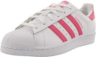adidas Originals Superstar, Basket, Blanc, Rose véritable, 20 EU