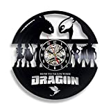 GXYtable cloth Cómo Entrenar el Reloj de Registro de Vinilo de Regalo de dragón