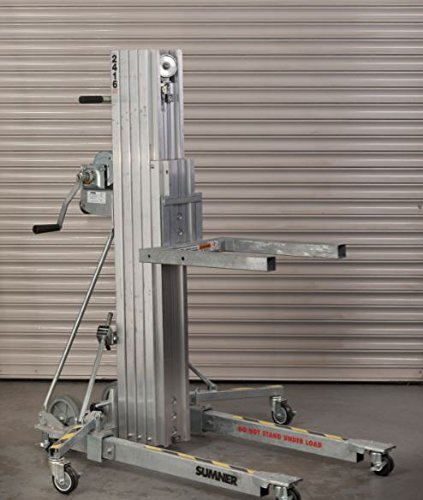 Elevador de material o carga Sumner 2416