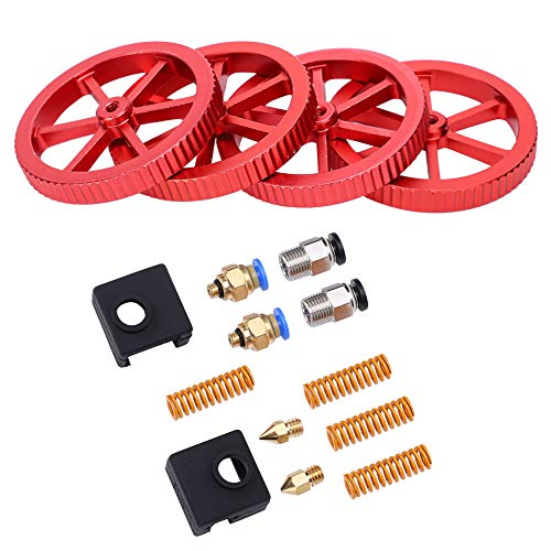 Red Specialize 3D Printer Kit Handing Extruder Upgrade Kit 3D Printing Kit for 3D Printing