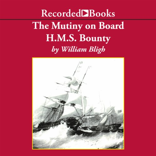 The Mutiny on Board H.M.S. Bounty copertina