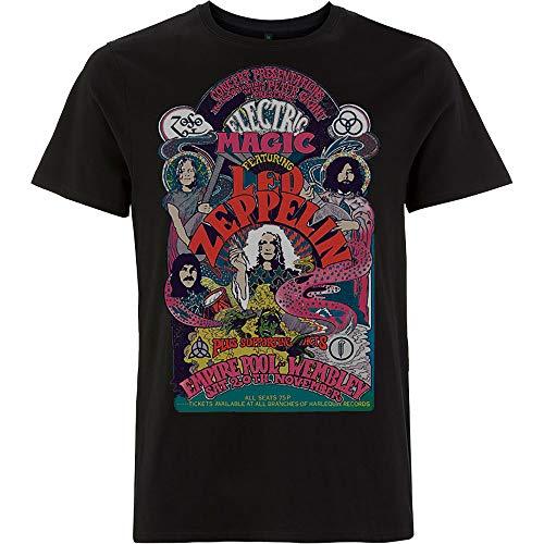 Rock Off Led Zeppelin Full Colour Electric Magic Oficial Camiseta para Hombre (XX-Large)